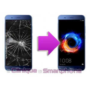 Remplacement Vitre tactile + Ecran LCD Huawei Honor 8 Pro