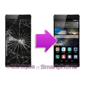 Changement LCD + Vitre tactile  Huawei P8