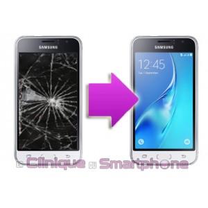 Remplacement Vitre Tactile + Ecran LCD Galaxy J1 - J120