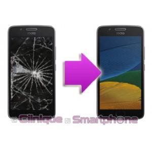 Changement bloc écran Motorola Moto G5 Plus