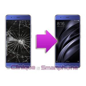 Changement LCD + Vitre tactile XIAOMI MI6