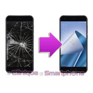 Remplacement Vitre tactile + Ecran LCD Asus Zenfone 4 Max
