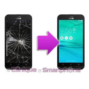 Changement LCD + Vitre tactile ASUS Zenfone Go à partir de
