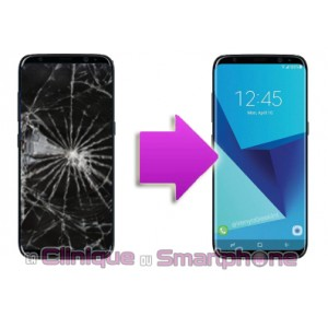 Remplacement Ecran LCD + Vitre tactile Samsung Galaxy S8