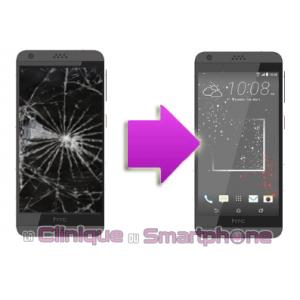 Remplacement Vitre Tactile + Ecran LCD HTC Desire 530