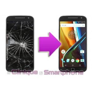 Remplacement Vitre Tactile + Ecran LCD Motorola G4