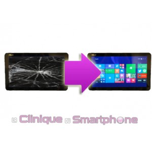 Remplacement Vitre Tactile ASUS Transformer TF301