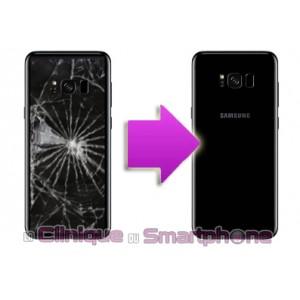 Remplacement vitre arrière Samsung Galaxy S8 / S8+