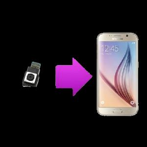 Changement caméra arrière Samsung Galaxy S6