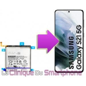 Changement batterie Samsung Galaxy S21 / S21+ / S21 Ultra