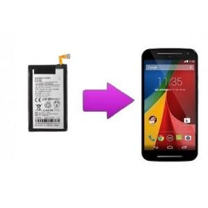 Remplacement batterie Motorola G2