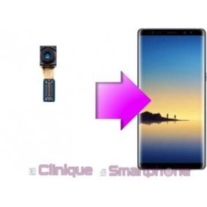 Remplacement caméra avant Samsung Galaxy Note 8