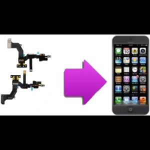 Changement camera Av et capteur de proximité iphone 5