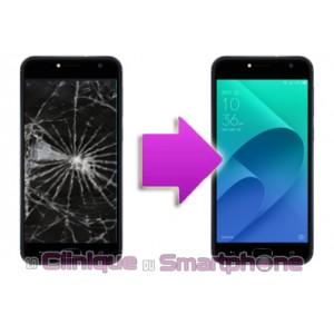 Changement Vitre Tactile + Ecran LCD Asus Zenfone 4 selfie
