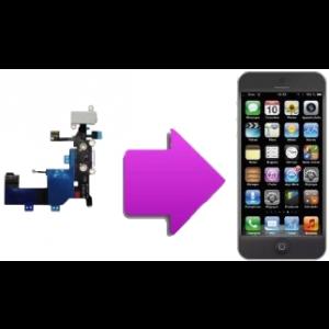 Changement connecteur charge et nappe ecouteur Iphone 5