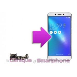 Remplacement connecteur de charge Asus Zenfone 3 Laser