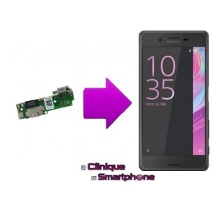 Remplacement connecteur de charge Sony xperia XA
