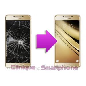 Remplacement Vitre Tactile + Ecran Amoled Samsung Galaxy C5 C5000