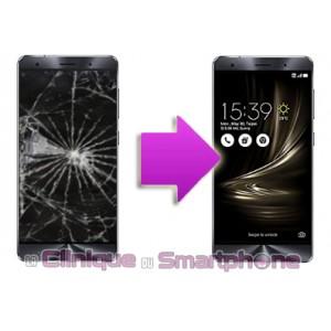 Changement Vitre Tactile + Ecran LCD Asus Zenfone 3 Deluxe