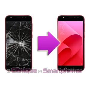 Changement Vitre Tactile + Ecran LCD Asus Zenfone 4 selfie Pro