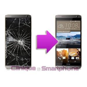 Remplacement Vitre tactile + LCD pour  HTC One E9 / E9 Plus