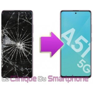 Remplacement bloc écran Samsung Galaxy A51 (5G - A516B)