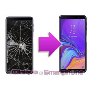 Changement LCD + Vitre tactile Samsung Galaxy A7 (2018)