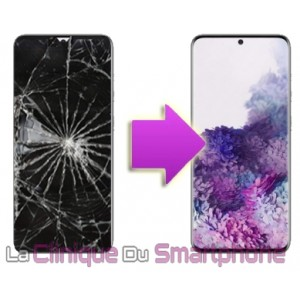 Remplacement bloc écran complet Samsung Galaxy S20 (G980F)