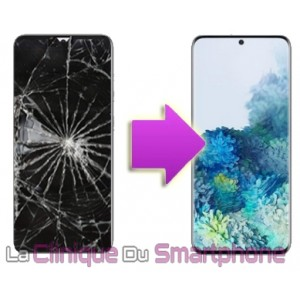 Remplacement bloc écran complet Samsung Galaxy S20+ (G985F)