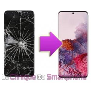 Remplacement bloc écran complet Samsung Galaxy S20 Ultra (G988F)