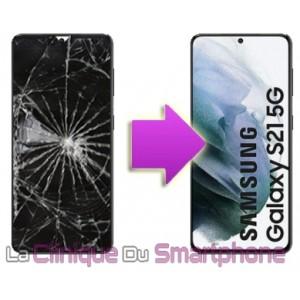 Remplacement bloc écran complet Samsung Galaxy S21 5G (G991B)