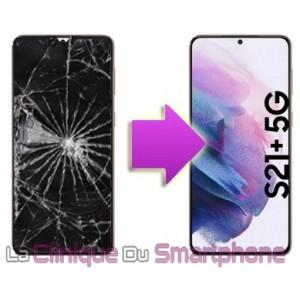 Remplacement bloc écran complet Samsung Galaxy S21+ 5G (G996B)