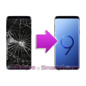 Remplacement Vitre Tactile + Ecran Amoled Samsung Galaxy S9