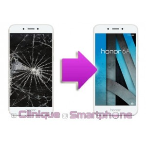 Remplacement Vitre Tactile + Ecran LCD Huawei Honor 6A