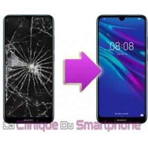 Remplacement Vitre Tactile + Ecran LCD Huawei Y6 - 2019
