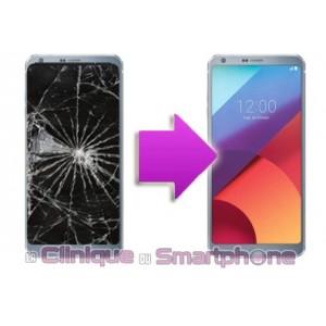 Remplacement Vitre Tactile + Ecran LCD LG G6