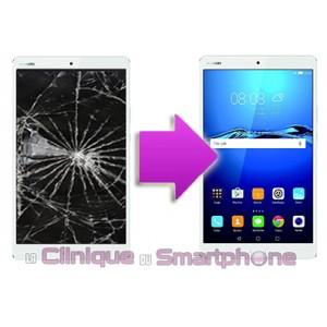 Changement Vitre Tactile + Ecran LCD Huawei M3