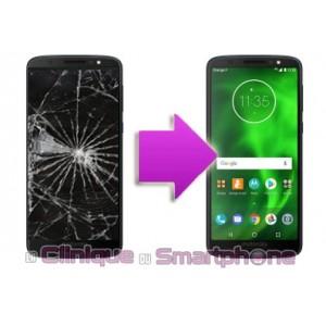 Remplacement Vitre Tactile + Ecran LCD Motorola G6