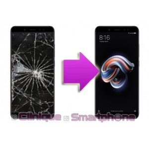 Remplacement Vitre Tactile + Ecran LCD Xiaomi Redmi Note 5