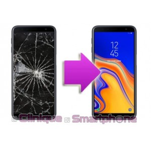 Changement LCD + Vitre tactile Samsung Galaxy J6+ (2018)