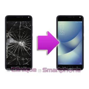 Changement Vitre Tactile + Ecran LCD Asus Zenfone 4 Max Plus