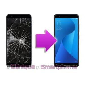 Remplacement Bloc écran (Vitre Tactile + Ecran LCD) Zenfone Max Plus M1 ZB570TL