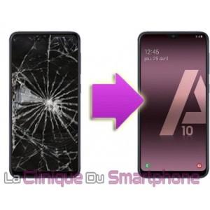 Remplacement Vitre tactile + Ecran Amoled Samsung Galaxy A10 (A105F)