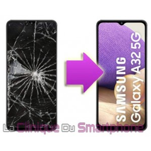 Remplacement Vitre tactile + Ecran Amoled Samsung Galaxy A32 - 5G