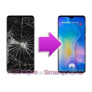 Remplacement Vitre Tactile + Ecran LCD Huawei Mate 20