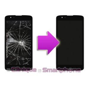 Remplacement Vitre Tactile + Ecran LCD LG K7