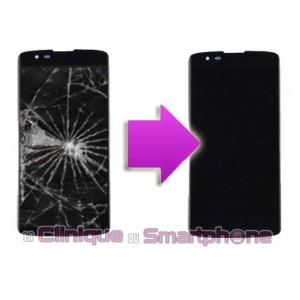 Remplacement Vitre Tactile + Ecran LCD LG K8
