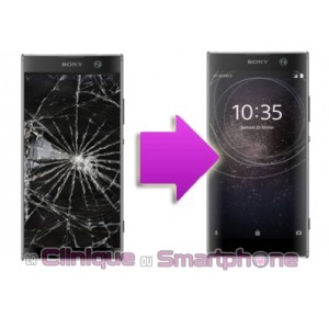 Remplacement Vitre Tactile + Ecran LCD Sony xPeria XA2 Ultra