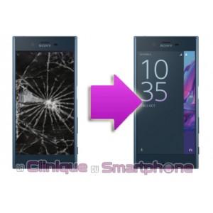 Remplacement Vitre Tactile + Ecran LCD pour Sony Xperia XZ