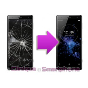 Remplacement Vitre Tactile + Ecran LCD Sony Xperia XZ2